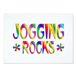 Jogging Rocks Card