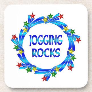 Jogging Rocks Coasters