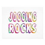 Jogging Rocks Invitations