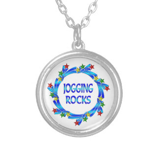 Jogging Rocks Custom Necklace