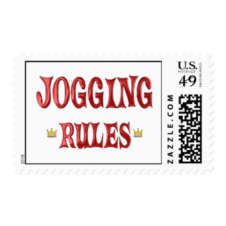 Jogging Rules Stamps