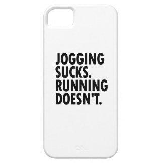 Jogging Sucks. Running Doesn't. iPhone SE/5/5s Case