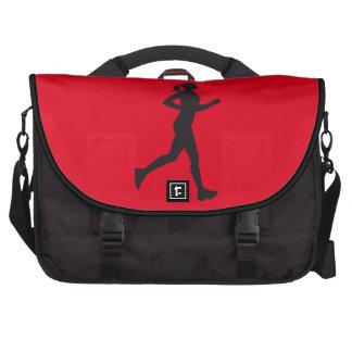 jogging woman bolsas para portátil