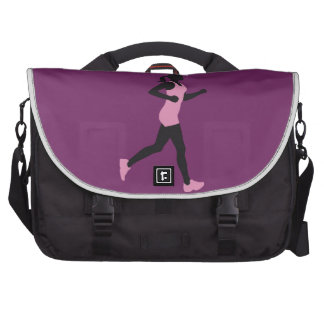 jogging woman bolsas para portatil