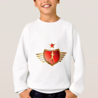 jogging woman sweatshirt