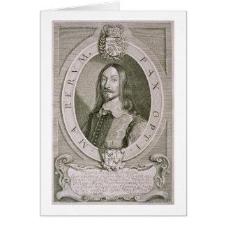 Johan Axelsson Oxenstierna (1611-57) Count of Sode Card