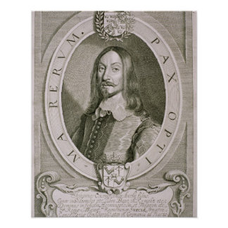 Johan Axelsson Oxenstierna (1611-57) Count of Sode Posters