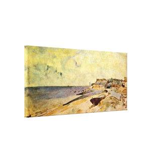 Johan Barthold Jongkind - vare en la dirección del Lienzo Envuelto Para Galerías