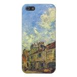 Johan Jongkind - Street in Nevers iPhone 5 Cases