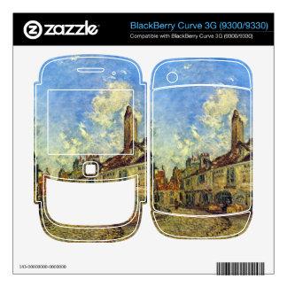 Johan Jongkind - Street in Nevers BlackBerry Curve 3G Skins