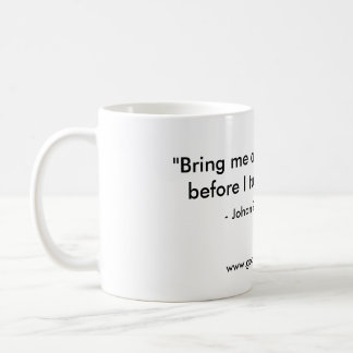 Johan Sebastian Bach's Coffee Mug