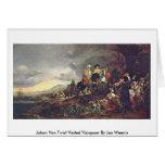 Johan Van Twist Visited Visiapoer By Jan Weenix Cards
