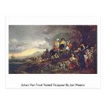 Johan Van Twist Visited Visiapoer By Jan Weenix Post Card