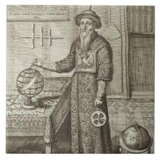 Johann Adam Schall von Bell (1591-1666) from 'Chin Ceramic Tile