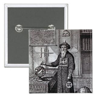 Johann Adam Schall von Bell 2 Inch Square Button