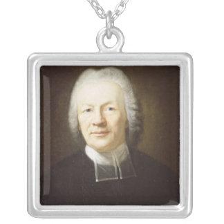 Johann August Ernesti Silver Plated Necklace