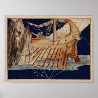 Johann Bayer The Argonauts 1603 Reproduction Poster