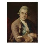 Johann Christian Bach, 1776 Postales