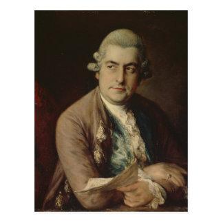 Johann Christian Bach, 1776 Postcard