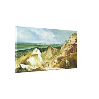Johann Christian Brand - The Sand Pit Canvas Print