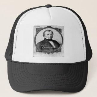 """Johann Fichte """"Misunderstood""""  Quote Trucker Hat"""