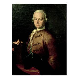 Johann Georg Leopold Mozart Postcard