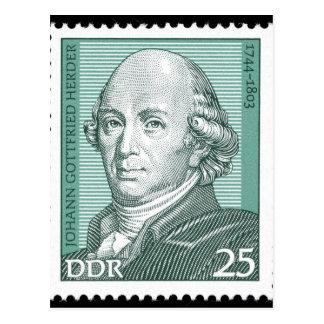 Johann Gottfried Herder Postal