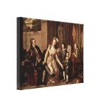 Johann H Wilhelm - Saltykova Johann Wilhelm Stretched Canvas Prints