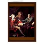 Johann Heinrich Fuseli Talking To The Zurich Histo Greeting Card