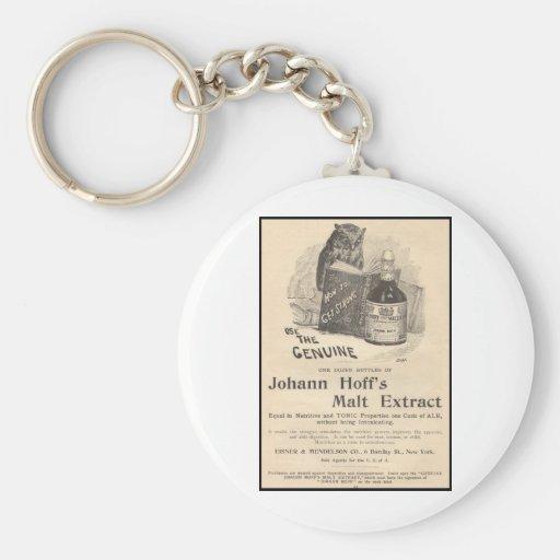 Johann Hoff's Malt Extract Keychains