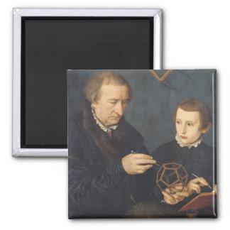 Johann I Neudorfer and his Son, 1561 Magnet