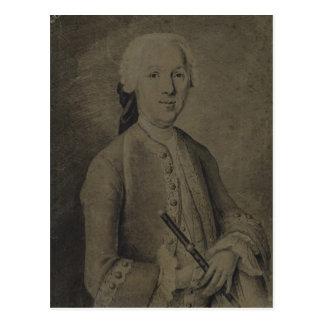 Johann Joachim Quantz Postcard