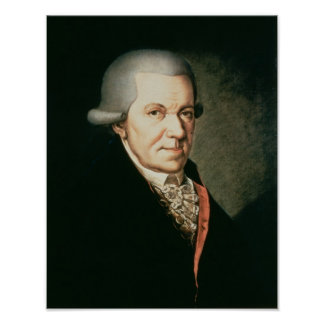 Johann Michael Haydn , brother of composer Poster