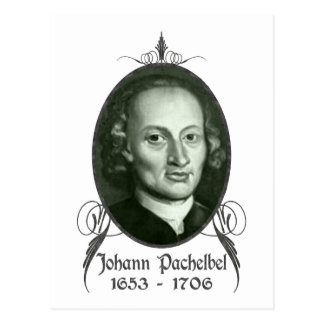 Johann Pachelbel Postales