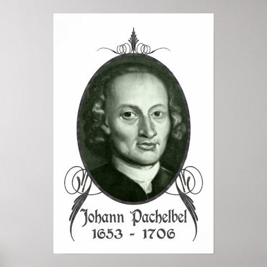 Johann Pachelbel Poster