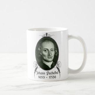 Johann Pachelbel Taza Básica Blanca