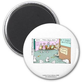 johann_rabbit, Londons Times Cartoons c2008www.... 2 Inch Round Magnet