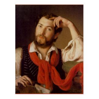 Johann Reiter Self-Portrait Postcard