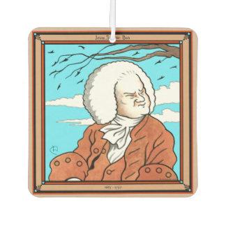 """""""Johann Sebastian Bach"""" Air Freshener"""