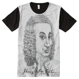 Johann Sebastian Bach All-Over-Print Shirt