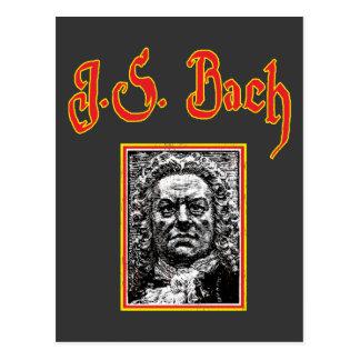 Johann Sebastian Bach - Baroque Music Postcard