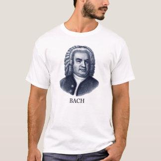 Johann Sebastian Bach, blue T-Shirt