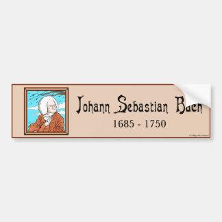 """Johann Sebastian Bach"" Bumper Sticker"