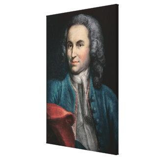 Johann Sebastian Bach  c.1715 Canvas Print
