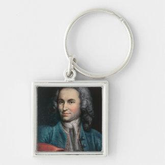 Johann Sebastian Bach  c.1715 Keychains