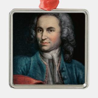 Johann Sebastian Bach  c.1715 Metal Ornament