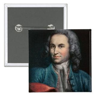 Johann Sebastian Bach c.1715 Pin