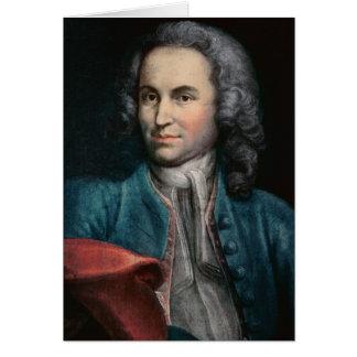 Johann Sebastian Bach c.1715 Tarjeta De Felicitación