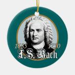 Johann Sebastian Bach Ceramic Ornament