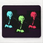 Johann Sebastian Bach Collage Mouse Pads